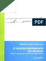 O Desencantamento do Mundo - Antonio Flávio Pierucci