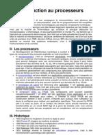Introduction Au Processeurs