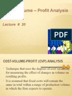 Lecture 20CAs20