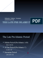 The Late Pre-Islamic Period