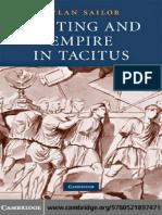 Writing and Empire in Tacitus - Dylan Sailor (Cambridge)