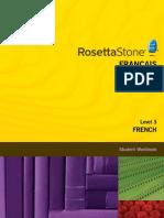 Rosetta Stone. - French. Level 3 - Student Workbook