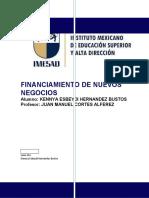 FINANCIAMIENTO DE NUEVOS NEGOCIOS tarea julio 04