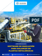 SOFTWARE DE SIMULACION PARA BALANCES DE PLANTAS METALURGICAS