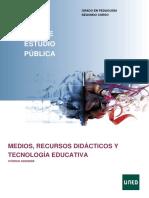 Medios, Recursos Didácticos y Tecnología Educativa Guia_63022089_2021