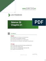 CPC Les finances