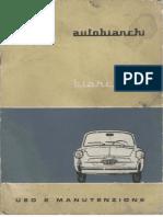 Autobianchi Bianchina User Manual 1964