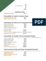 Import Duty & Taxes Claculator.xlsx