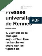 Musique et politique - 1. L'amour de la musique aujourd'hui. Une recherche en cours sur les figures de l'amateur - Presses universitaires de Rennes.pdf