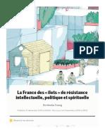 La France des «îlots» de résistance intellectuelle, politique et spirituelle