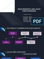 MAHA RESEARCH LABS_ SALES FORCE EXPANSION