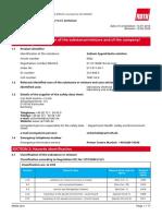 Sodium Hypochlorite MSDS