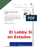 El Lobby Sionista