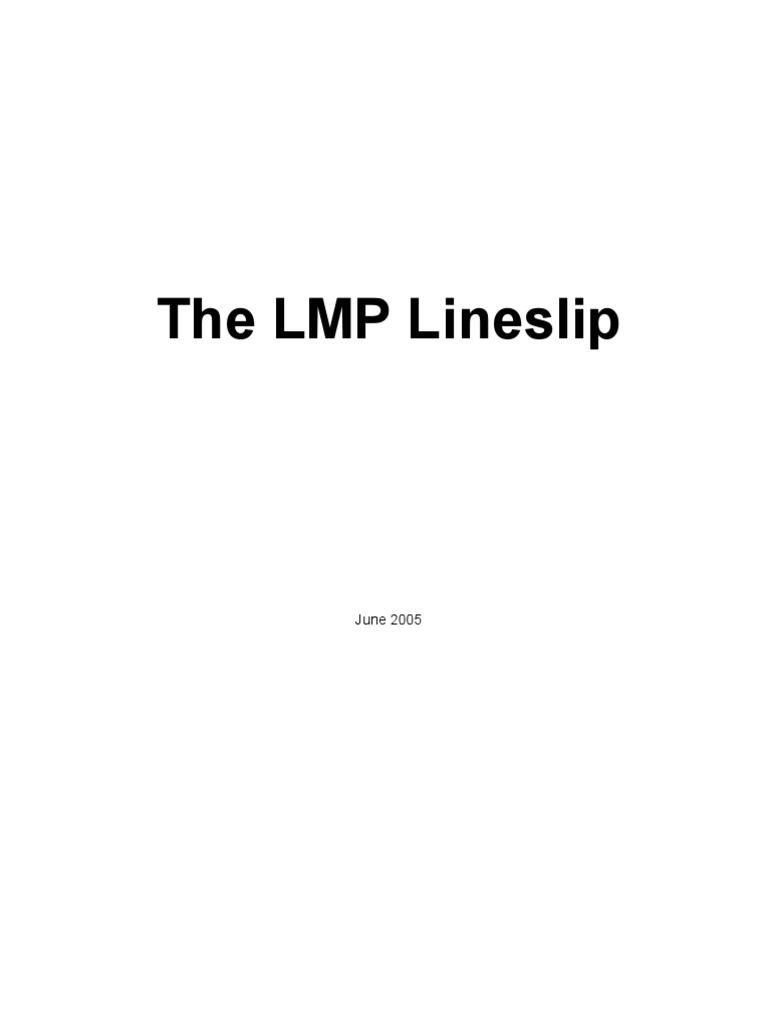 Line Slip June 2005 Reinsurance Insurance