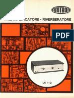 Amtron UK112 - Preamplificatore - riverberatore
