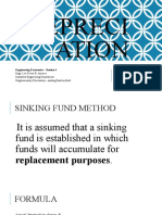 Session 4 - Supplementary - Sinking Fund Method