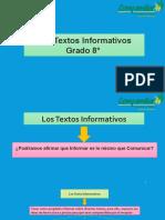 Texto Informativo 8°