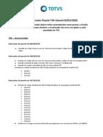 Release notes TAF - eSocial - Versao 12 - Janeiro_2020