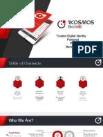 1Kosmos BlockID Overview V1.4