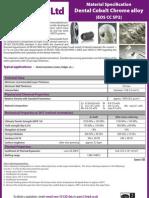 z3T - Dental Cobalt Chrome Alloy (EOS CC SP2)