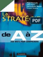 La stratégie de A à Z - Dunod