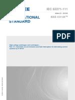 IEC 62271-111-2012 (IEEE C37.60)