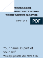 Chapter 3_Anthropological Perspectives on the Self - Part 1