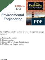 Environmental 101 to 110