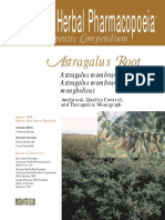 Upton R., Petrone C. - Astragalus Root, Astragalus Membranaceus and Astragalus Membranaceus Var_ Mongolicus. Analytical, Quality Control, And Therapeutic Monograph - Libgen.lc