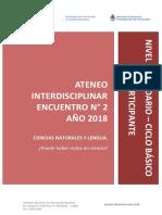 Nivel-Secundario-Ateneo-Didáctico-Interdisciplinar-Encuentro-2-Ciclo-Básico-Cs-Naturales-y-Lengua-Carpeta-Participante