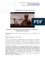 Entrevista al Dr. Rogerio Haesbaert. Parte 1