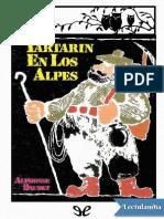 Tartarin en los Alpes Ilustrado - Alphonse Daudet