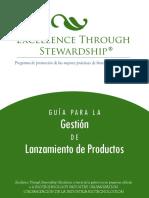 Excellence through Stewardship - Guia para la gestion de lanzamiento de productos - N.A.