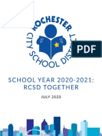 School Year 2020-2021 RCSD Together