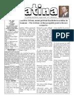 Datina - 22.07.2020 - prima pagină