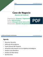 PMOInformatica Plantilla Caso de Negocio.ppt