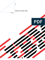DDS for Printer Files