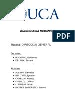 BUROCRACIA MECANICA