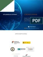 Virtual Educa cronograma 2020