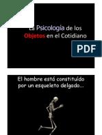 La psicologia de los objetos
