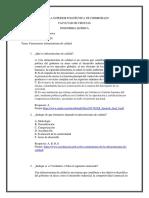 Cuestionario de Infraestructura de calidad