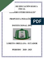 PPI TEODORO OTERO ROSALES 14 DE JULIO