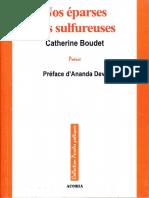 A quoi bon, préface d'Ananda Devi au recueil Nos éparses nos sulfureuses