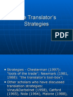 The Translator's Strategies