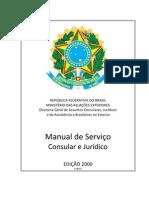 Manual de Serviço - Consular e Jurídico