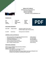 Revilla - Resume- New
