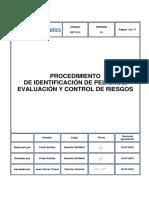 SST.P.01 - Procedimiento de Identificación de Peligros, Evaluación y Control de Riesgos - V01