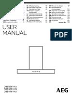 Manual Hota Premium AEG