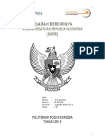 Makalah PKN Sejarah Kemerdekaan Indonesia