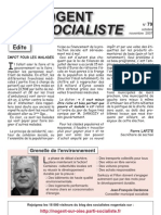 Nogent Socialiste n°79